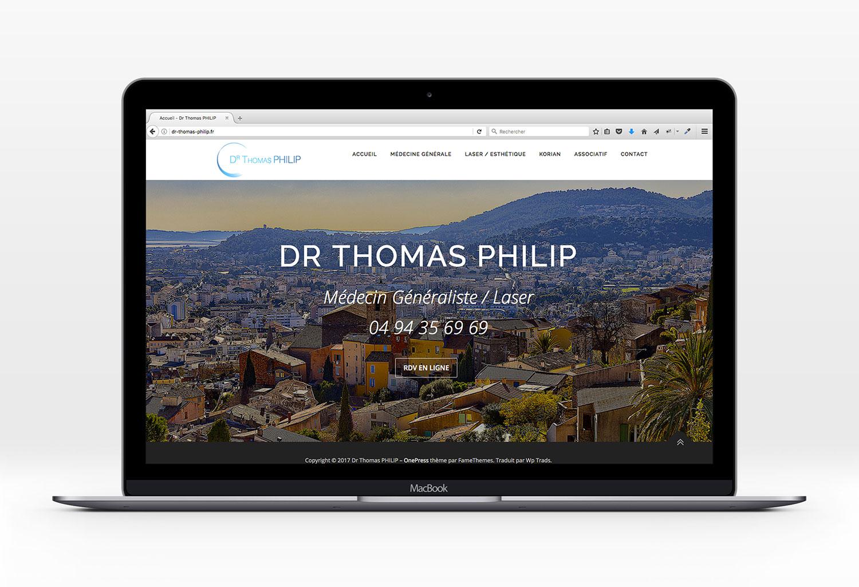 home site internet Docteur Philip