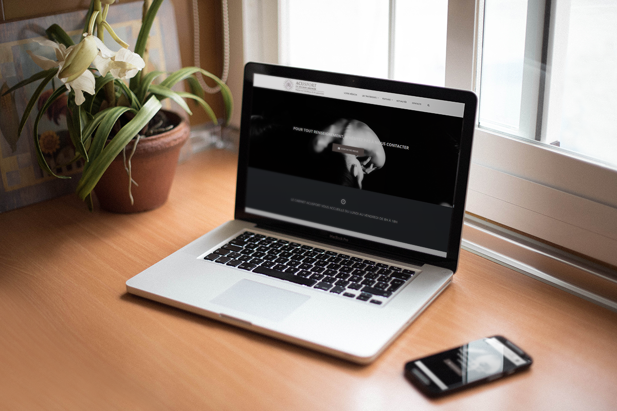 Site internet Acusport - Dr Meunier