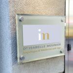 plaque dr Isabelle Mounier
