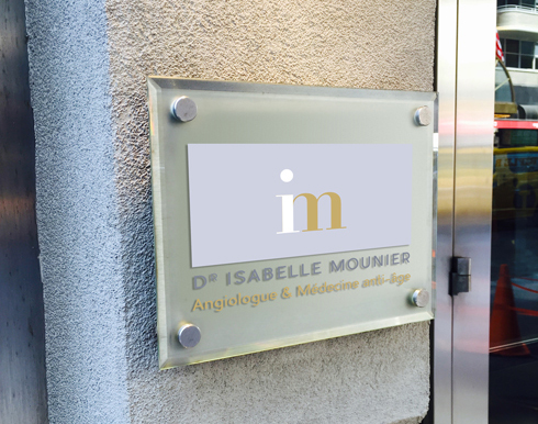 plaque dr Isabelle Mounier